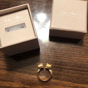 India Hicks Jewelry - India Hicks The Leticia Ring S/M Gold. Never worn.
